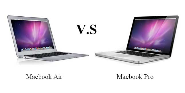 macbook air vs macbook pro which one 39 s right for you. Black Bedroom Furniture Sets. Home Design Ideas