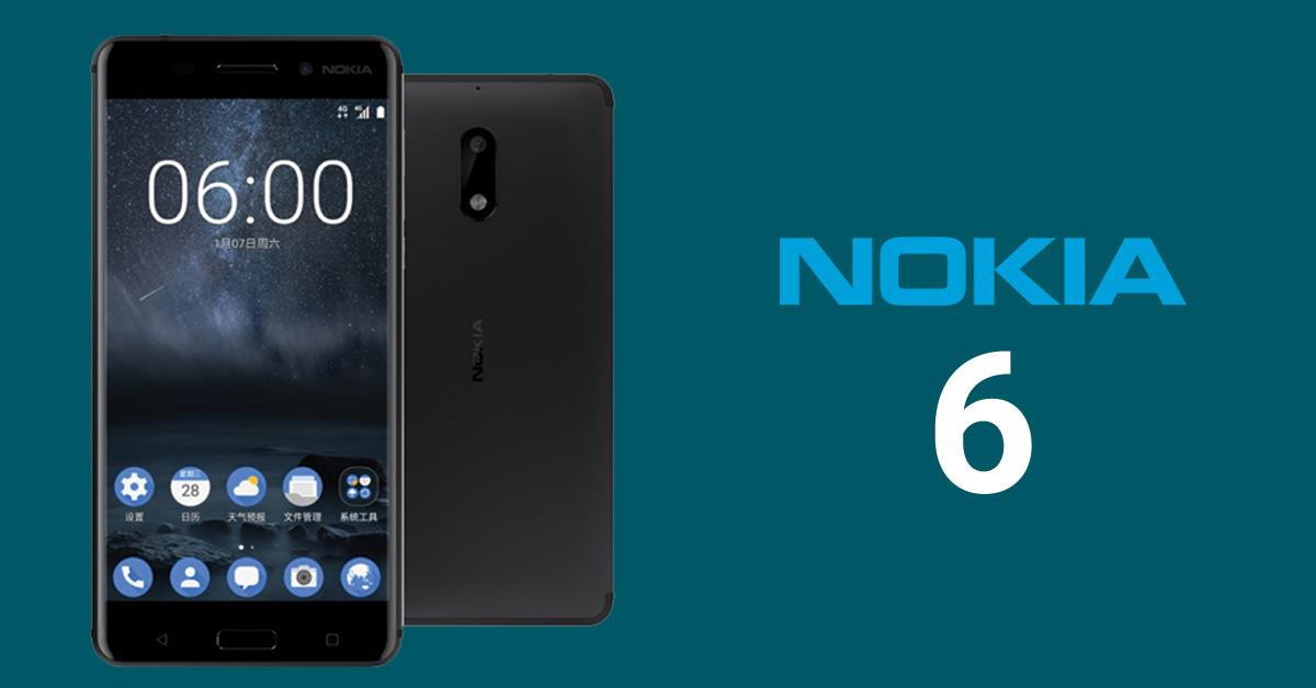 Nokia 6 Launch