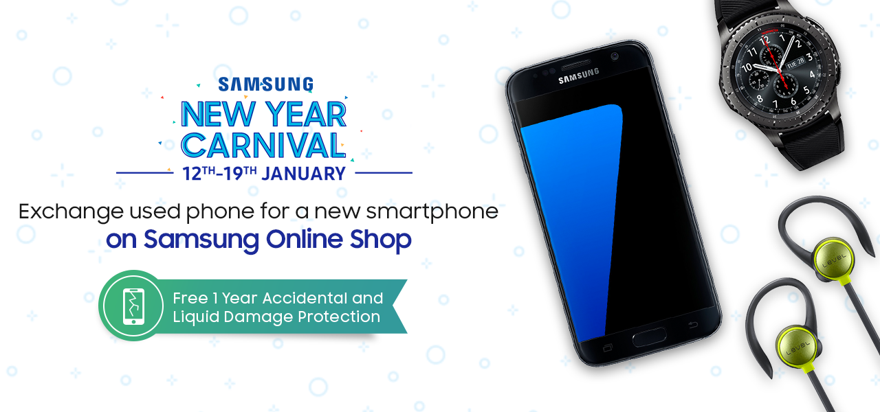 Samsung New Year Carnival (12th-19th January)